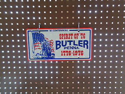 Bi-Centennial 'spirit Of 76' Butler Penna License Plate