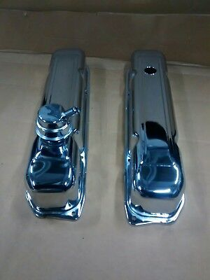 Chrysler 440 Chrome Valve Covers, Mopar Big Block V8