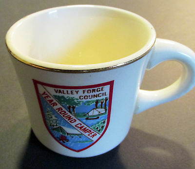 Boy Scouts Valley Forge Council YEAR ROUND CAMPER Mug BSA (Cradle of Liberty)