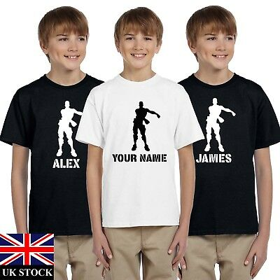 Boys Mens Floss Dancer Personalised Fort Ps4 Game Nite  Xbox T Shirt Tee