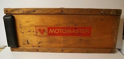 Vintage Motomaster Garage Creeper Mechanics Dolly Canadian Tire