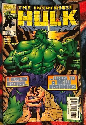 Marvel INCREDIBLE HULK 468 VF/NM ***$3.98 UNLIMITED SHIPPING***