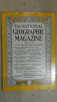 National Geographic- March 1958: FAST - CHANGING NATIONS NORTH OF CAPE HORN