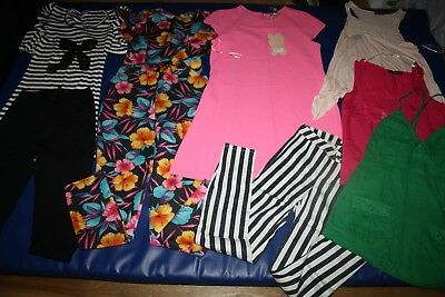 Lovely bundle of women's clothes x 8 by River Island, H&M, Atmosphere size 8-10
