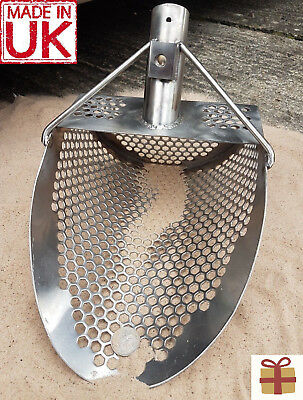 🍀New Large XXL Heavy Duty Universal Metal Detecting Sand Scoop🍀