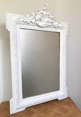 Beautiful French Antique Rococo Crested Mirror