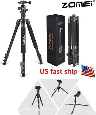 Portable Zomei Q111 Pro Heavy Duty Aluminium Tripod & Pan Head for DSLR Camera