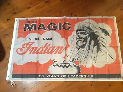 Indian motor cycles sign Man Cave flag Work Shop Garage Shed Bar Banner Poster