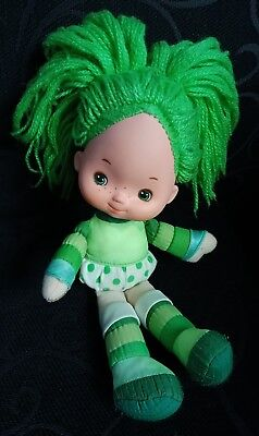 Rainbow Brite Doll.  1980's Vintage Toy. Green Doll.