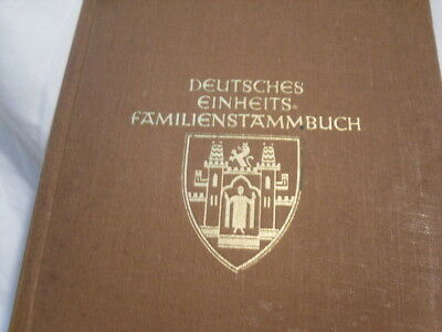 2WW.Family German  Genealogy Book 1932.48 pages+weed photo