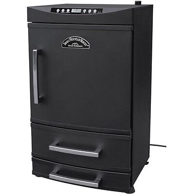 Electric Smoker Heat Led Grill Smoked Meat Turkey Leg BBq Pit Commercial Pan
