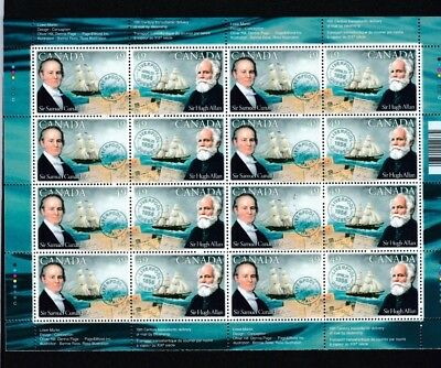 Canada  Mnh  - Mint Commemorative Stamps -Pioneers Of Transatlantic Mail Service