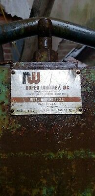 Roper Whitney 10ft Hand Brake Box and Pan Sheet Metal Bender 14ga