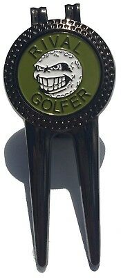Divot Tool - OLIVE - by Rival Golfer