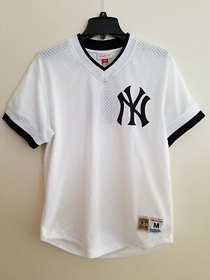 c1ead88d0 NEW YORK YANKEES Mitchell & Ness MLB Pick Up Game Top LARGE L $80 ...
