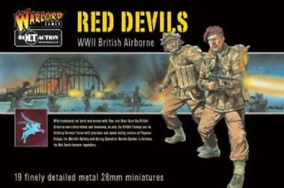 Warlord Bolt Action British Airborne 28mm Red Devils Box VG
