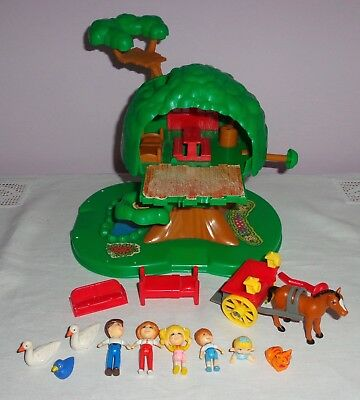 Vintage Matchbox Oh Penny!-Penny's Tree House Playset & Figurine Characters1988