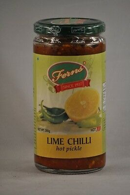 Lime Chilli Hot Pickle Relish 380g | GLUTEN FREE | SHIPPING DISCOUNT