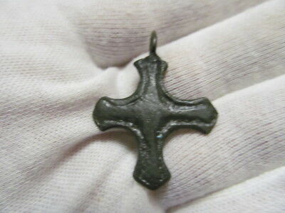 Ancient bronze cross Vikings Kievan Rus 10-11 АD № 460/15(restoration)