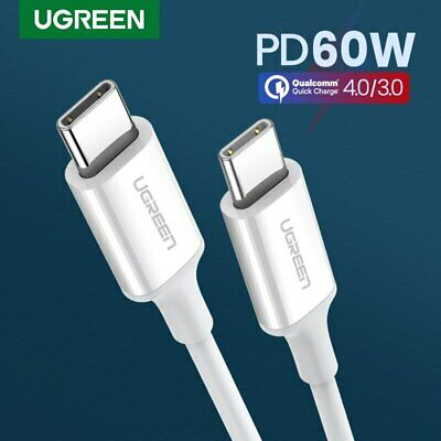 Ugreen USB C to USB C Charging Cable Type C Fast Charger Power Cord Fr Samsung