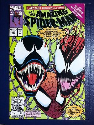The Amazing Spider-Man #363 (Jun 1992, Marvel) 1st print - Venom & early Carnage