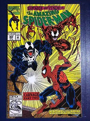 The Amazing Spider-Man #362 (May 1992, Marvel) 1st print Venom & early Carnage