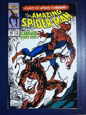 The Amazing Spider-Man #361 (Apr 1992, Marvel) 1st print - Venom & early Carnage