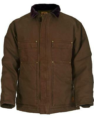 Berne Original Washed Chore Coat CH377ODT Tall Sizes