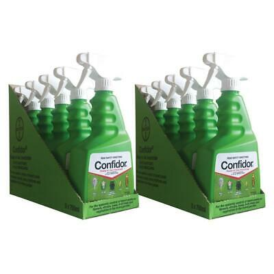 Bayer 10 Bottles of Confidor Ready To Use Garden Pest Insect Control 750mL RTU 7