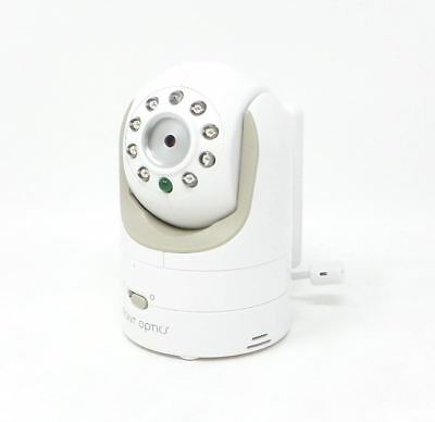 Infant Optics DXR-8 Video Baby Camera Unit Zoom/Tilt Add-On White Bare READ DESC