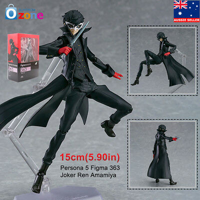 Persona 5 Figma 363 Joker Ren Amamiya PVC Figure Toy Model