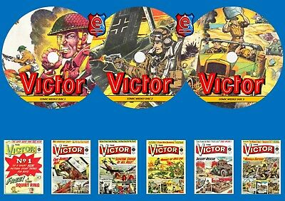 Victor Weekly Comic Collection (1-395) On 3 DVD Rom's