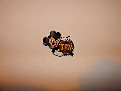 Disney Pin 73015 WDW - 10th Pin Trading Anniversary Promotion - Mickey-New!