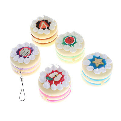 Slow Rising Round Cake Bread Relieves Stress Anxiety Toy  R