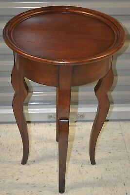 Ethan Allen Maison Round Accent Table Cherry Country French #13-3404 #355
