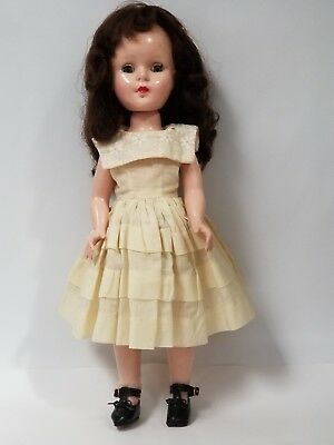 "14"" Sweet Sue Hard Plastic Doll Unmarked"