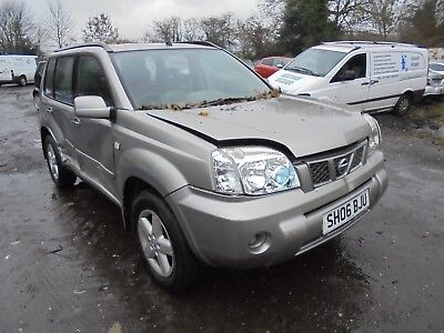2006 Nissan X Trail 2.2 Dci Salvage Damaged Repairable 4 Wheel Drive Diesel