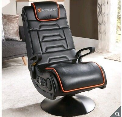 Astonishing X Rocker Afterburner Gaming Chair With Wireless Connectivity Gmtry Best Dining Table And Chair Ideas Images Gmtryco