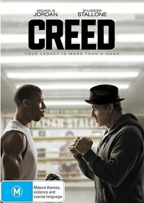 Creed (DVD, 2016) Australian Stock