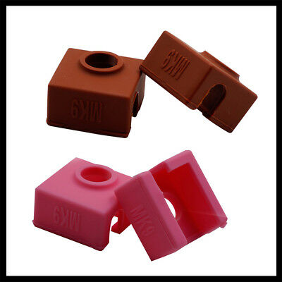 Silicone Sock Cover For MK10 3D Printer Aluminum Heater Block Accessories UK