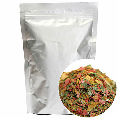 Fresh Tropical Fish Flakes Food 100g AF BULK Tank Aquarium FU