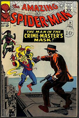 Amazing Spider-Man #26 VFN 1st App of Crime-Master