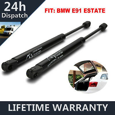 Rear Boot Tailgate Gas Spring Struts Fit BMW 3 Series E91 Estate 2005-2012 Pair