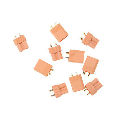 5set XT30 Male Female Bullet Connector Plug the Upgrade RC FPV Lipo Battery FD