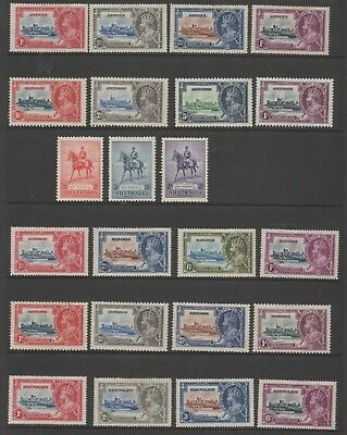 British Commonwealth 1935-1953 complete omnibus issues MNH mint stamps superb