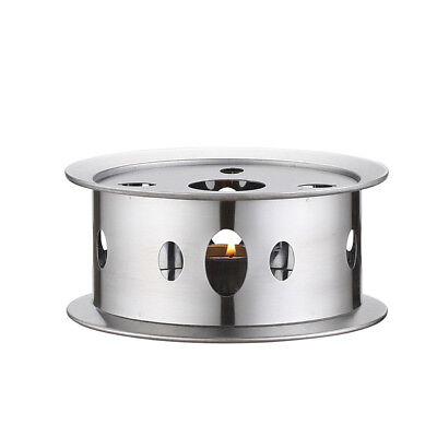 Trivets Teapot Warmer Practical Heater Stainless Steel Candle Base Dish Round