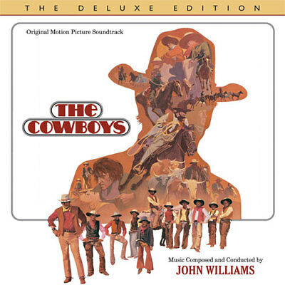 THE COWBOYS ~ John Williams CD ~ The Deluxe Edition LIMITED