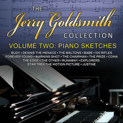 The Jerry Goldsmith Collection - Volume 2: Piano Sketches ~ Cd Limited