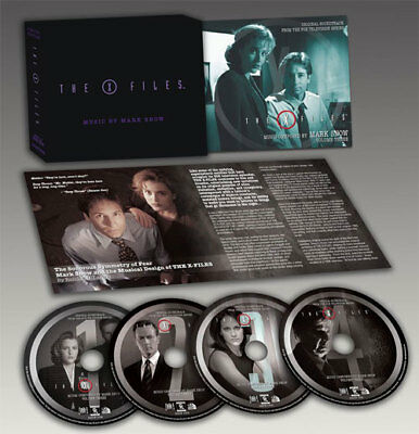 THE X-FILES: VOL. 3 ~ Mark Snow 4CD LIMITED