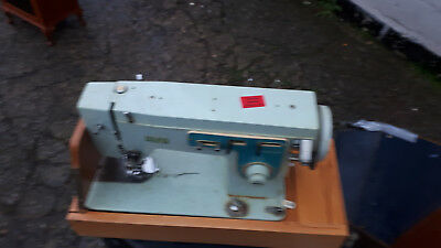 Alfa Sewing Machine Vintage Retro Kitsch Cased Alfa Sewing Machine No Foot Pedal